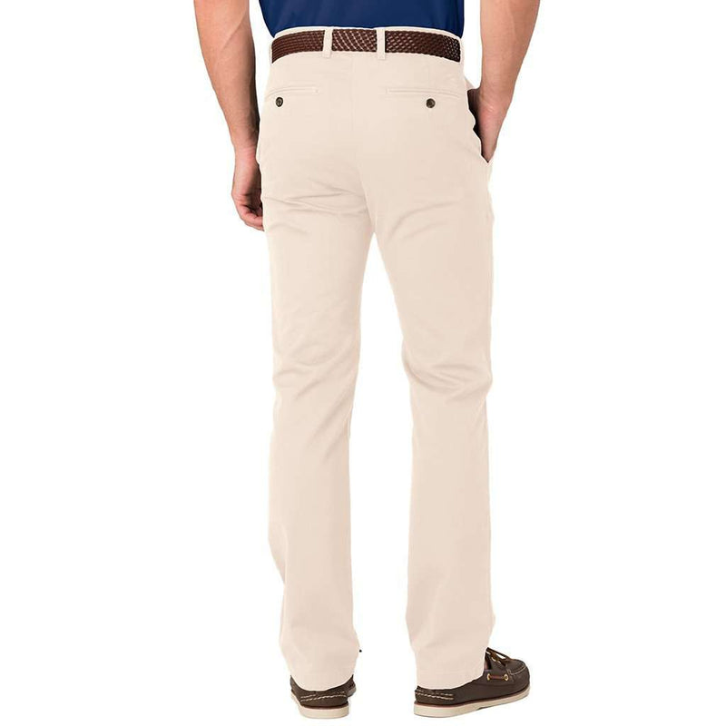 Trim Fit Skipjack Pants in Stone by Southern Tide