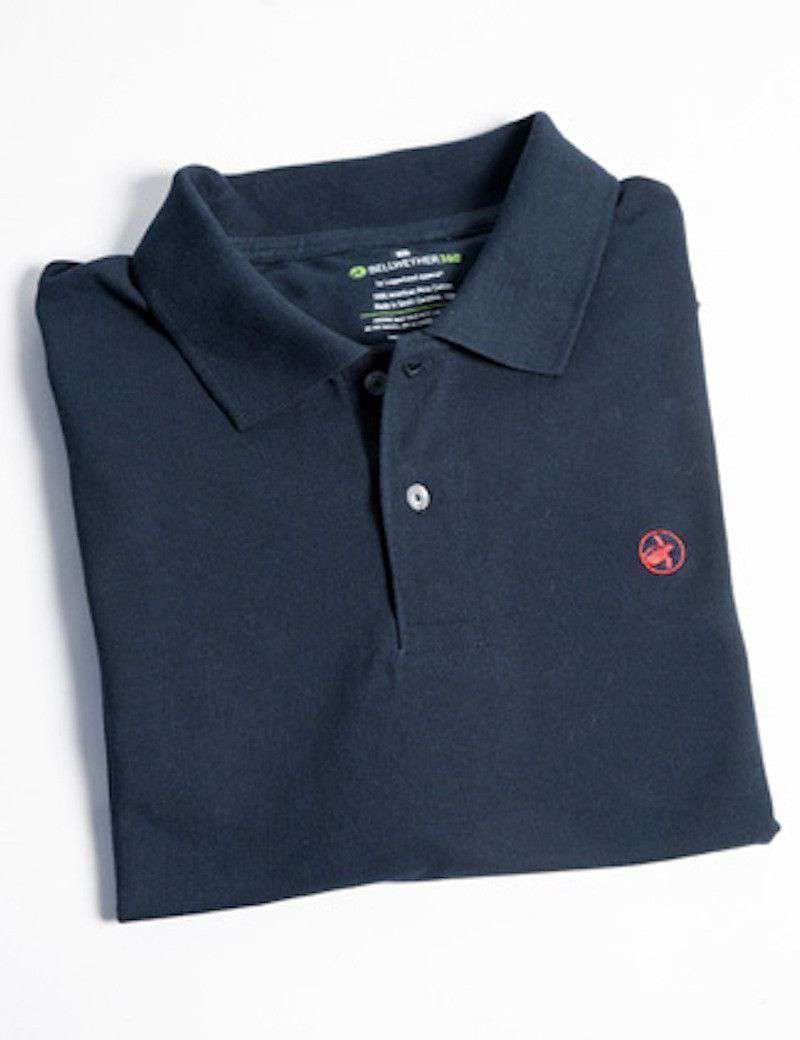 Men's Polo Shirts - Bellwether360 Polo In Bulls Bay Blue By Loggerhead Apparel - FINAL SALE