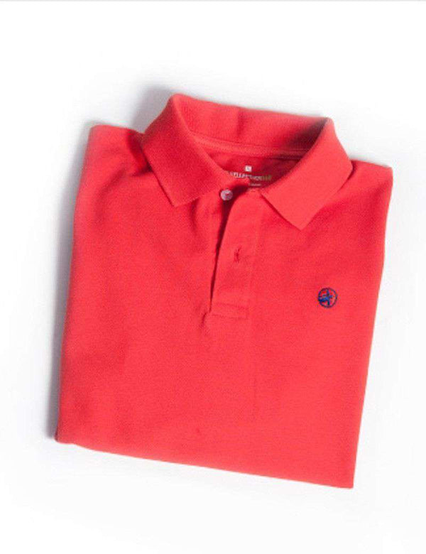 Bellwether360 Polo in Sailor's Delight Red by Loggerhead Apparel - FINAL SALE