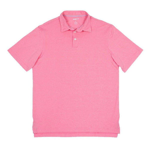 Men's Polo Shirts - Birdie Prep-Formance Polo In Blossom By Johnnie-O