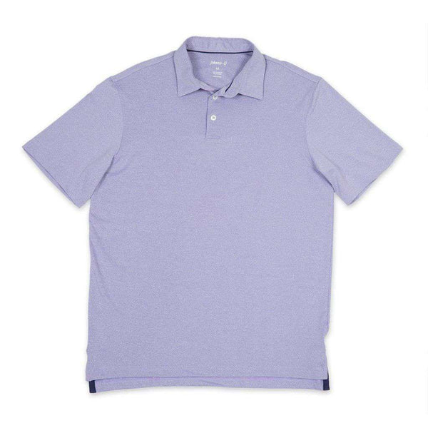 Men's Polo Shirts - Birdie Prep-Formance Polo In Lavender By Johnnie-O