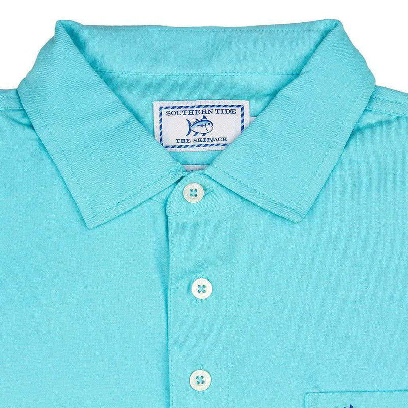 Channel Marker Polo in Crystal Blue by Southern Tide