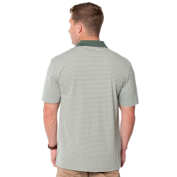 Heritage Performance Polo in Duck Green by The Southern Shirt Co.