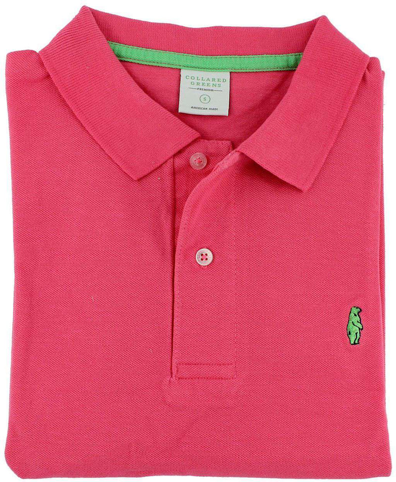 Home Grown Polo in Salmon Pink by Collared Greens - FINAL SALE