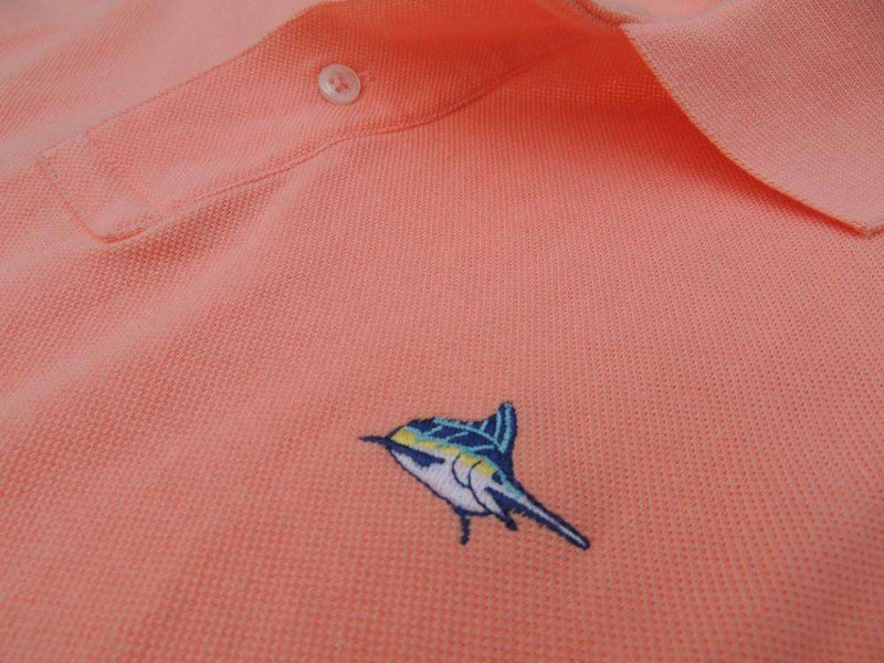 Marlin Polo in Coral Reef Light Orange by Atlantic Drift - FINAL SALE
