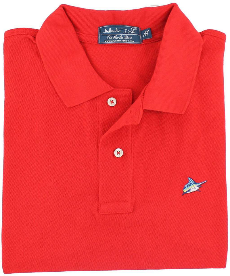 Marlin Polo in Red Drum by Atlantic Drift - FINAL SALE