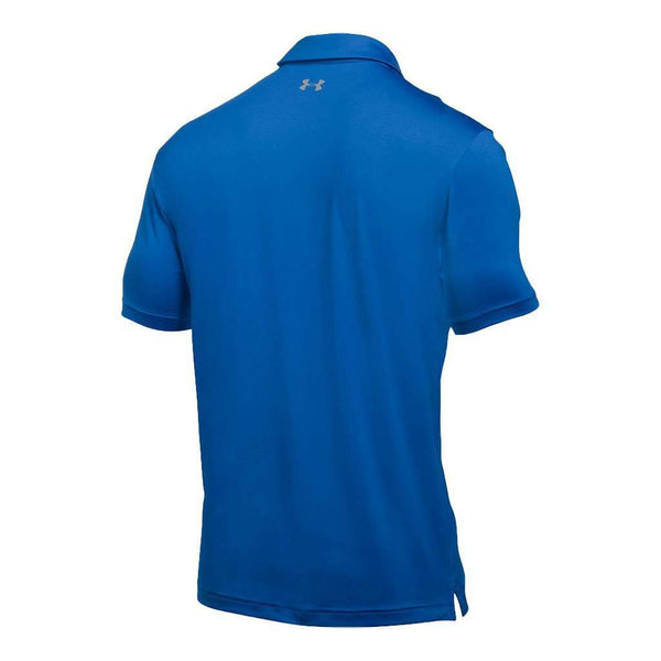 Playoff Polo in Blue Marker by Under Armour - FINAL SALE