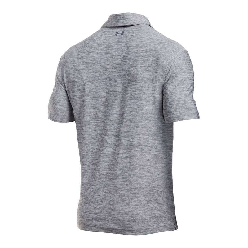 Playoff Polo in True Gray Heather by Under Armour - FINAL SALE