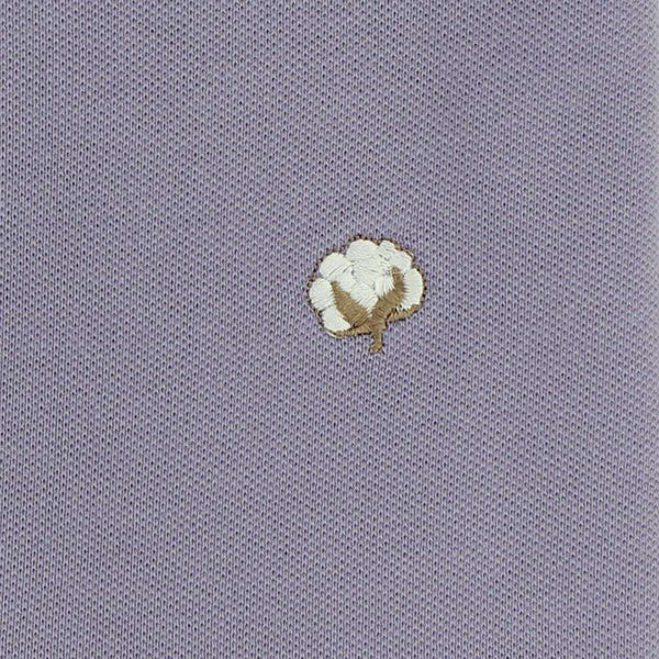 Polo Shirt in Lavender by Cotton Brothers - FINAL SALE