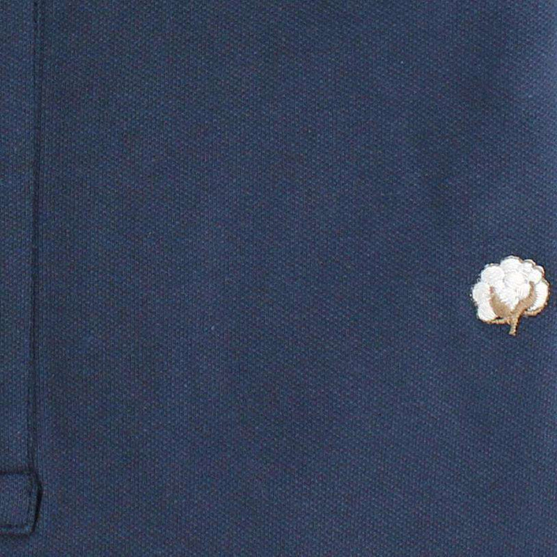 Polo Shirt in Navy by Cotton Brothers