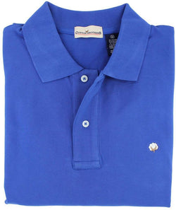 Men's Polo Shirts - Polo Shirt In  Royal Blue By Cotton Brothers