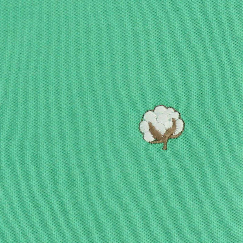Men's Polo Shirts - Polo Shirt In Seafoam Green By Cotton Brothers