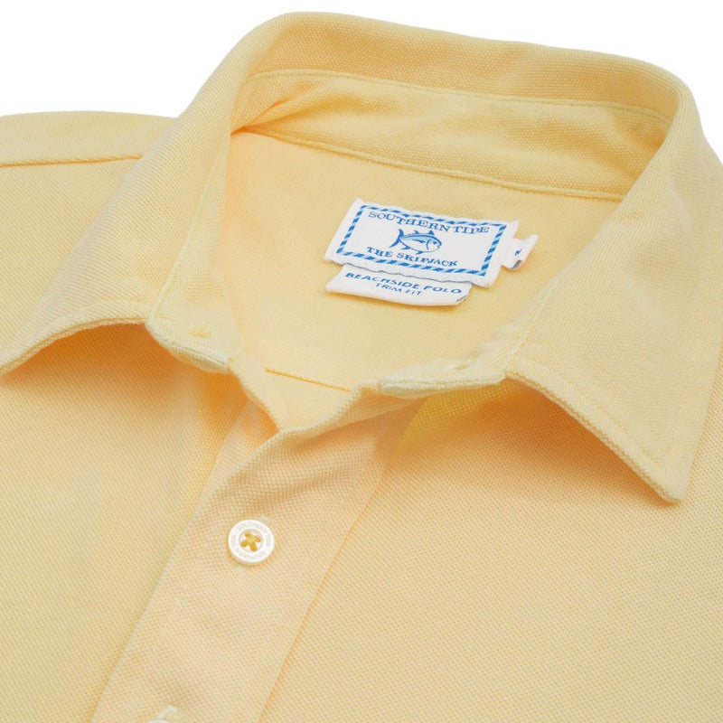 Short Sleeve Beachside Polo in Pineapple by Southern Tide