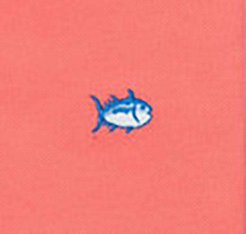 Short Sleeve Classic Skipjack Polo in Coral Beach by Southern Tide