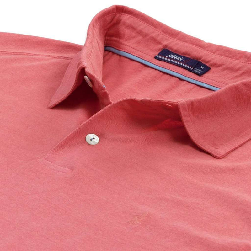 Sunset Polo in Coral Reefer by Johnnie-O - FINAL SALE