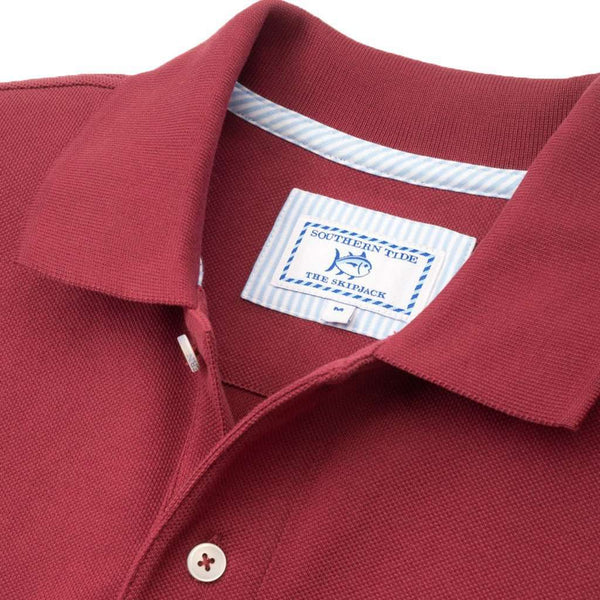 Texas A&M Gameday Skipjack Polo in Chianti by Southern Tide