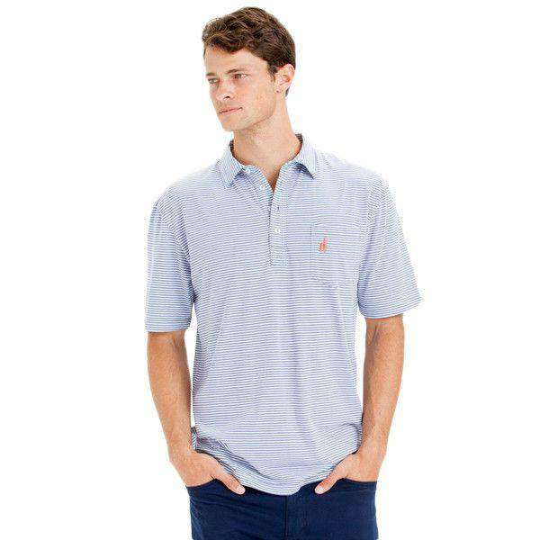 Men's Polo Shirts - The Jack Polo In Vista By Johnnie-O