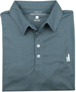 1954d822 Men's Polo Shirts - The Moisture Wicking Prep-Performance Polo In Navy By  Johnnie-