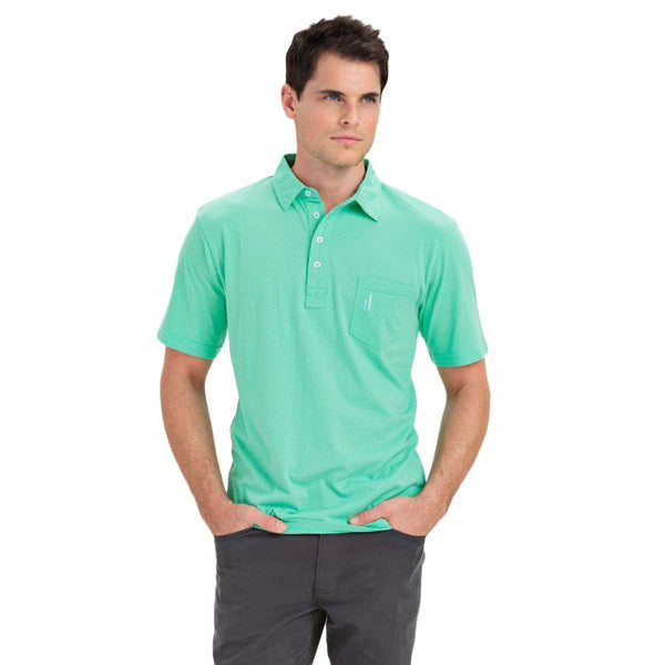 Men's Polo Shirts - The Original 4-Button Polo In Fairway By Johnnie-O