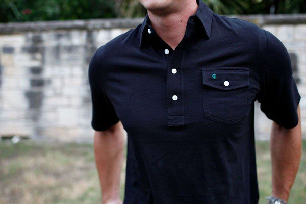 The Players Shirt in Black by Criquet