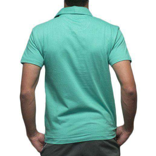 Toasting Man Polo in Mint Green by Rowdy Gentleman - FINAL SALE