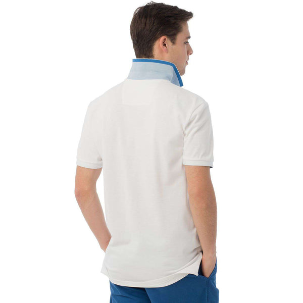 Varsity Polo in Classic White by Southern Tide