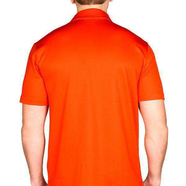 Virginia Cavaliers Performance Golf Polo in Orange by Under Armour - FINAL SALE
