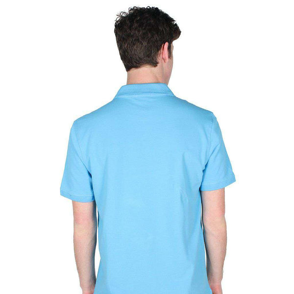 Winyah Polo in Baby Blue by Coast