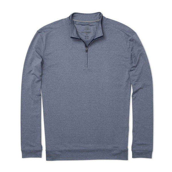 Flex Prep-Formance 1/4 Zip Pullover in Abyss by Johnnie-O - FINAL SALE