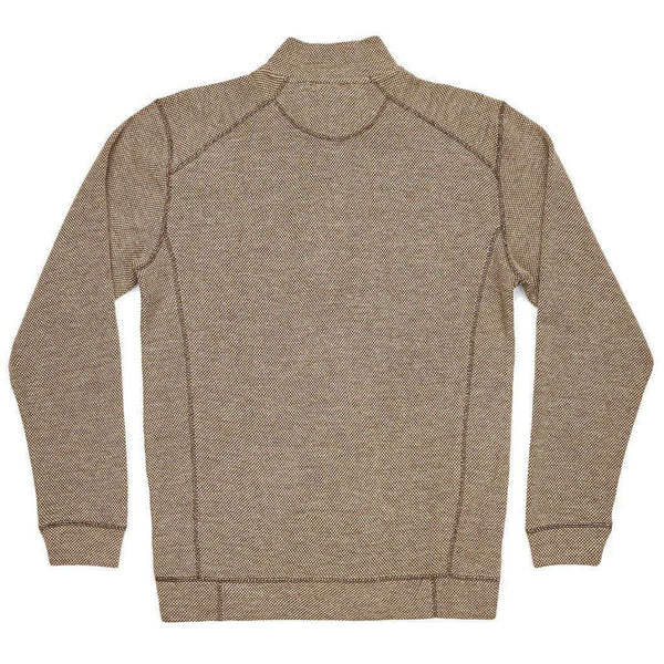Men's Pullovers - Front Range Pullover In Stone Brown By Southern Marsh - FINAL SALE
