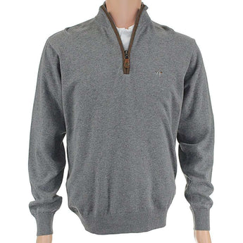 Men's Pullovers - Hayward 1/4 Zip Pullover In Grey By Southern Point Co. - FINAL SALE