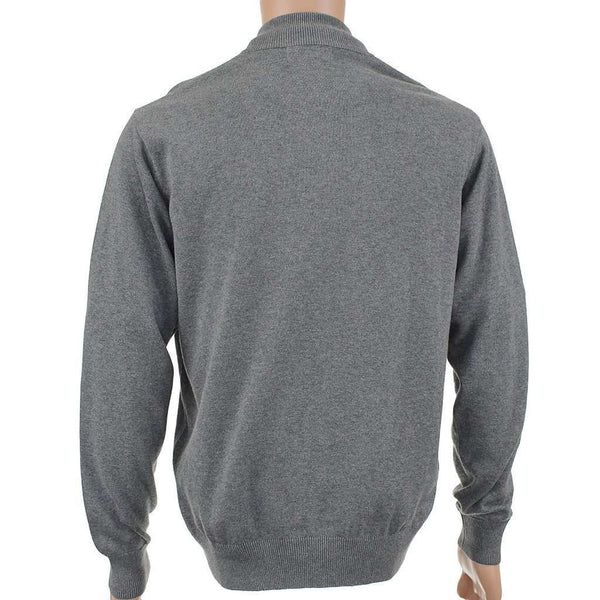 Hayward 1/4 Zip Pullover in Grey by Southern Point Co. - FINAL SALE