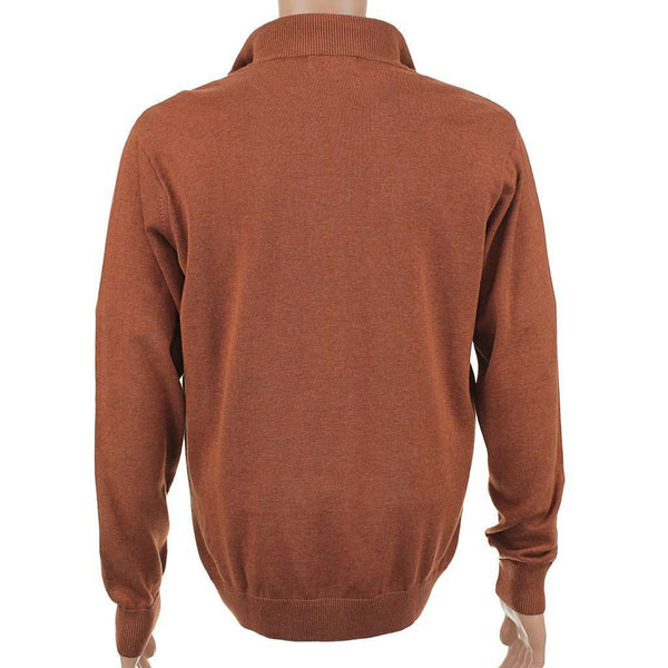 Hayward 1/4 Zip Pullover in Orange by Southern Point Co. - FINAL SALE