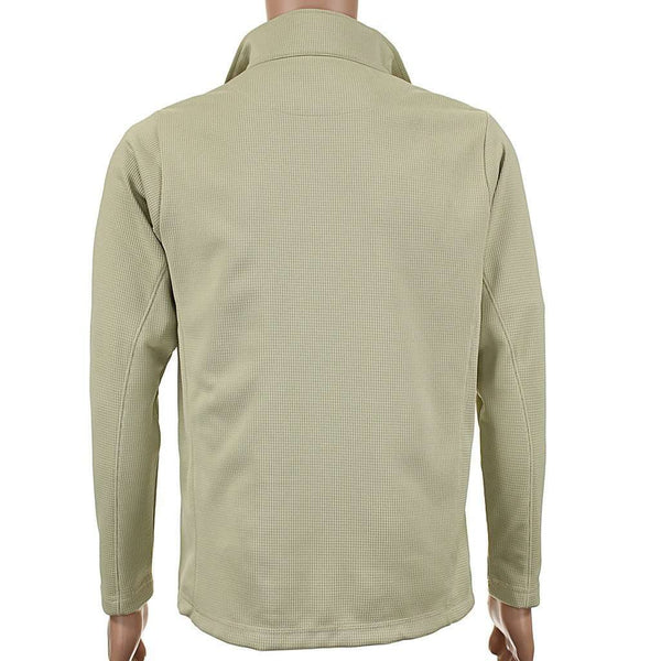 Hennington Waffle 1/4 Zip Pullover in Khaki by Southern Point Co. - FINAL SALE