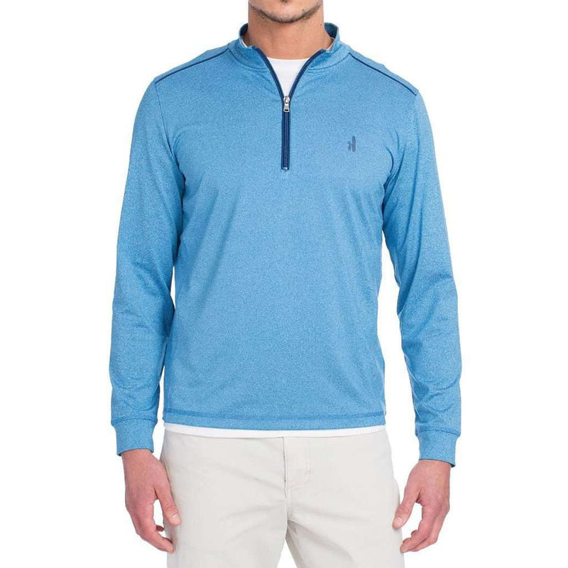 Lammie 1/4 Zip Prep-Formance Pullover in Gemini Blue by Johnnie-O - FINAL SALE