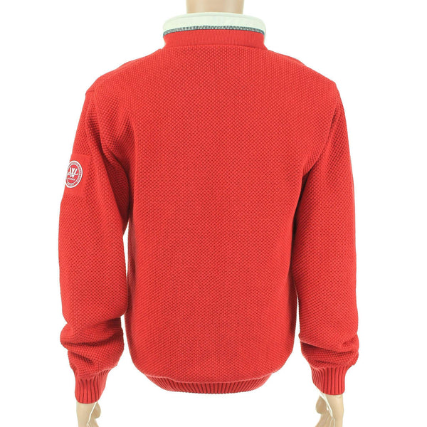 Men's Classic Windproof Pullover in Red by Holebrook - FINAL SALE