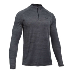 Men's Pullovers - Men's UA Tech™ ¼ Zip In Black By Under Armour - FINAL SALE