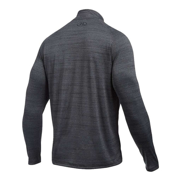 Men's UA Tech™ ¼ Zip in Black by Under Armour - FINAL SALE