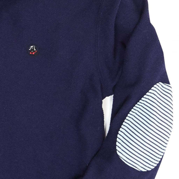 Nelson Pullover in Navy and Pool by Southern Proper - FINAL SALE