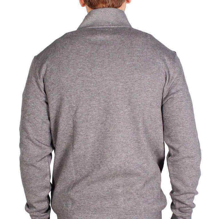 University of Alabama 1/4 Zip Pullover in Steel Grey by Southern Tide