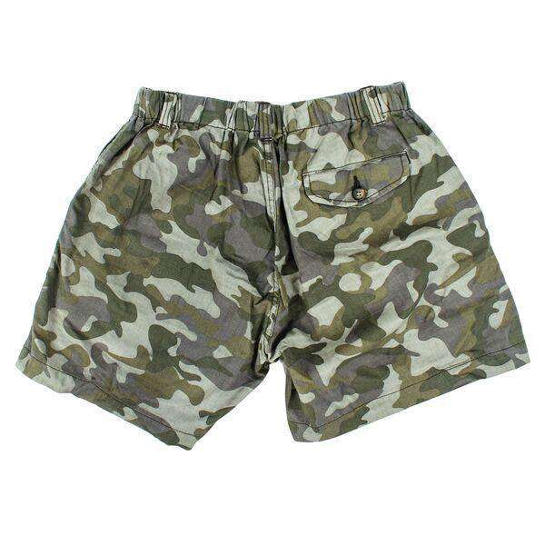 "5 1/2"" Snappers Shorts in Camo by Vintage 1946"