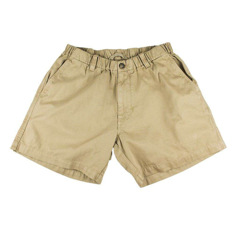 "Men's Shorts - 5 1/2"" Snappers Shorts In Khaki By Vintage 1946"