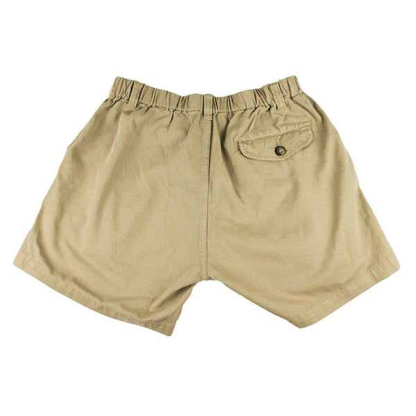 "5 1/2"" Snappers Shorts in Khaki by Vintage 1946"