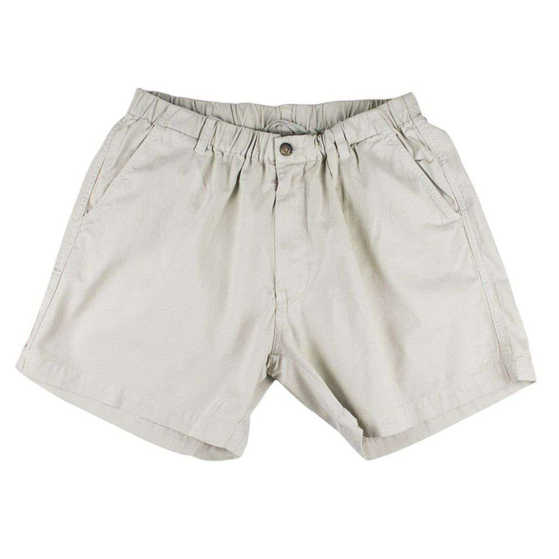 "Men's Shorts - 5 1/2"" Snappers Shorts In Light Stone By Vintage 1946"