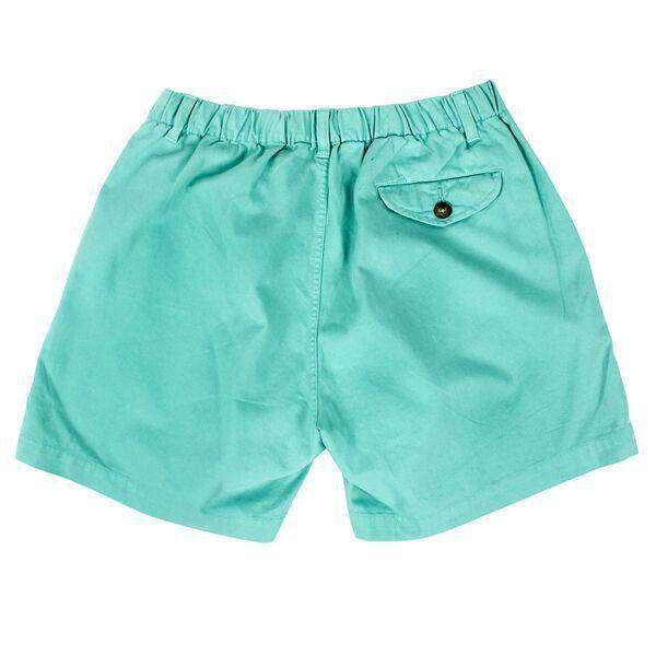 "Men's Shorts - 5 1/2"" Snappers Shorts In Seafoam By Vintage 1946"