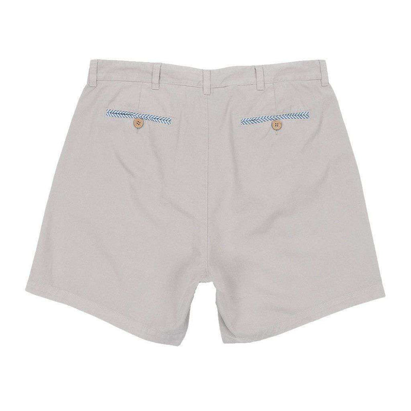"6"" SEAWASH™ Charleston Short in Washed Grey by Southern Marsh - FINAL SALE"