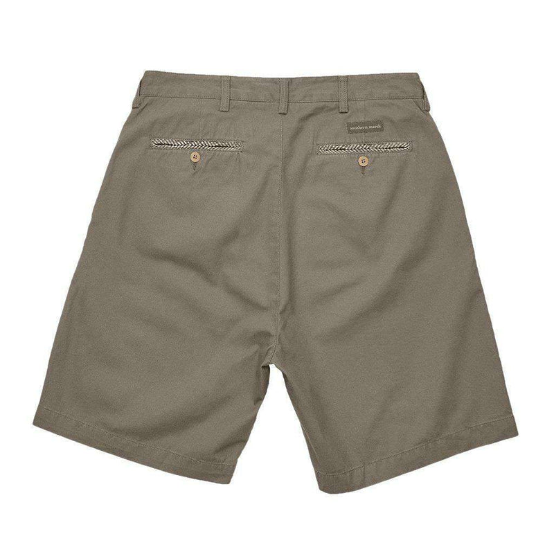"8"" SEAWASH™ Charleston Short in Burnt Taupe by Southern Marsh"