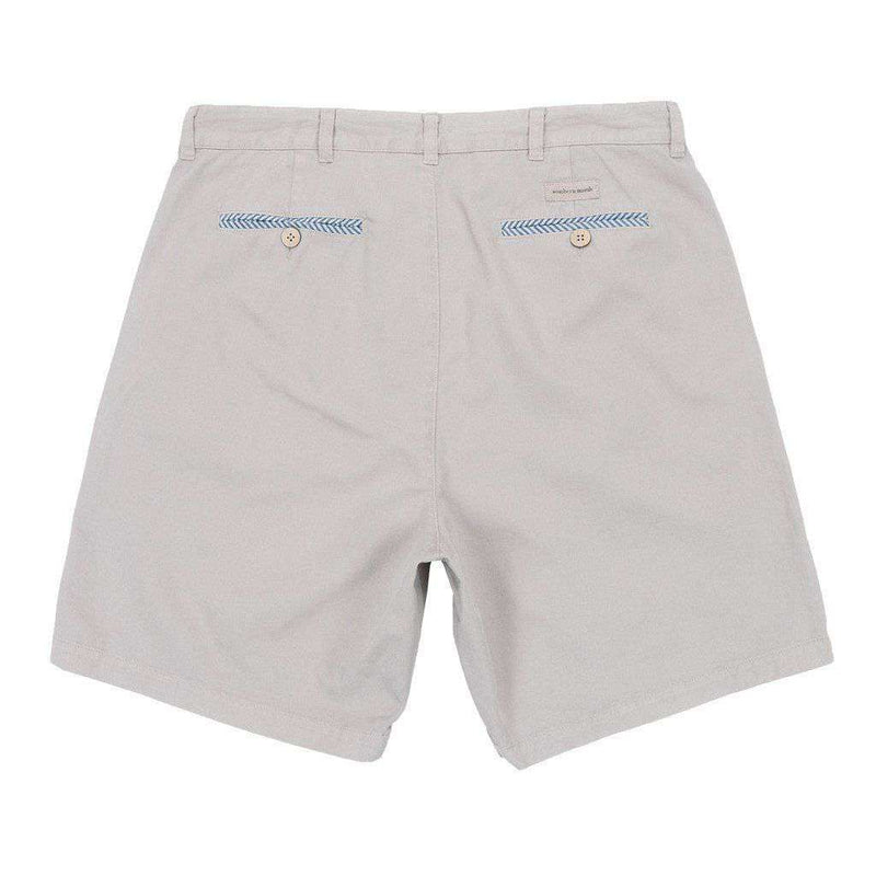 "8"" SEAWASH™ Charleston Short in Washed Grey by Southern Marsh"