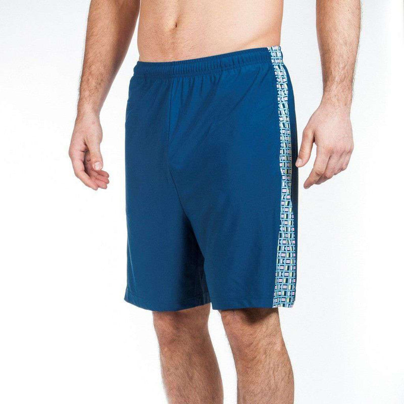 Men's Shorts - Admiral's Shorts In Navy By Krass & Co.