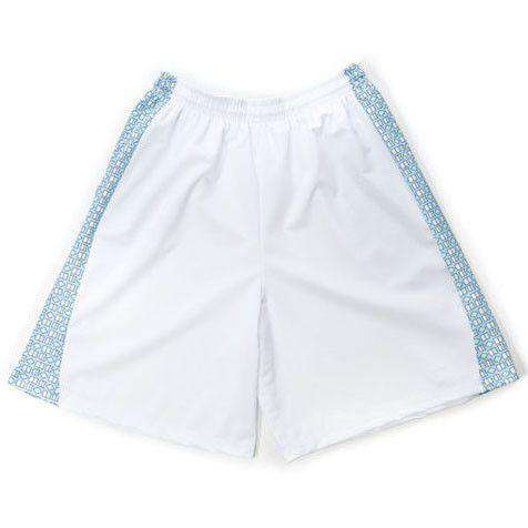 Men's Shorts - Admiral's Shorts In White By Krass & Co